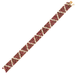 FoFo, München, Juwelenbörse, Schmuck, Armband VCA Rubine, Diamanten