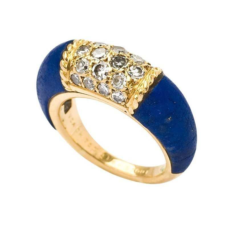FoFo, die Juwelenbörse -  Philippine-Ring von Van Cleef and Arpels |18 Karat Gelbgold | Diamanten ca. 0.35 ct.