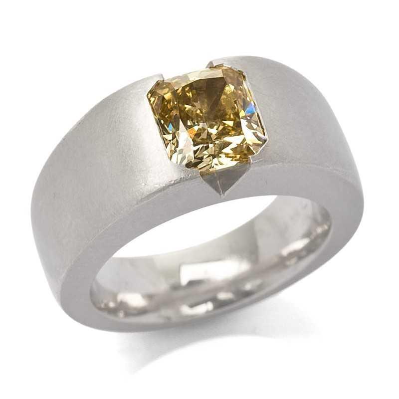 FoFo, die Juwelenbörse -  Ring | 950 Platin | Diamant 2.49 ct.