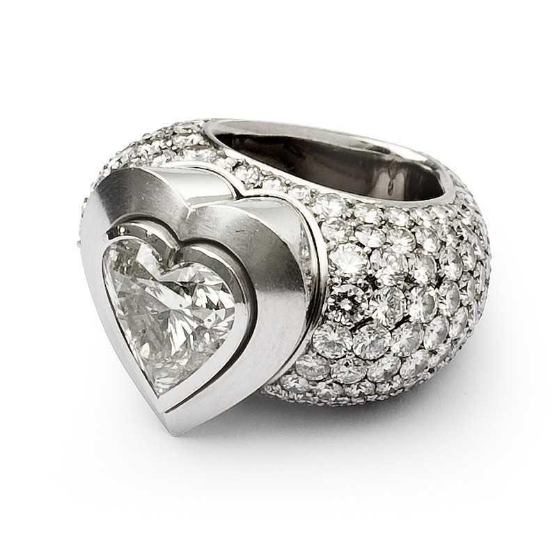 FoFo, die Juwelenbörse -  Sévigné Herz Ring