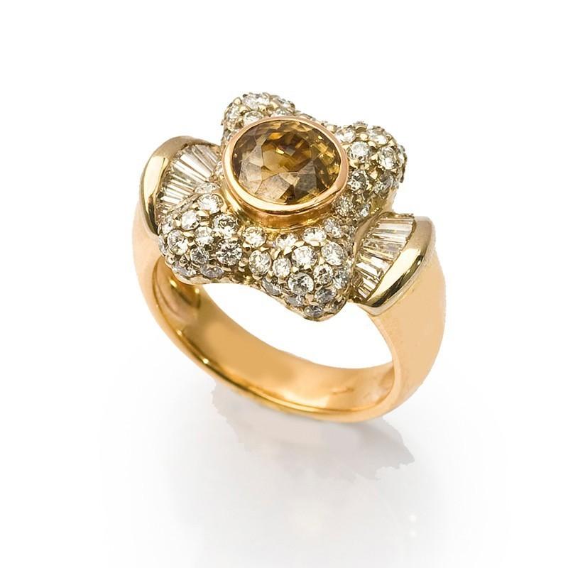 FoFo, die Juwelenbörse -  Zirkonring mit Diamanten