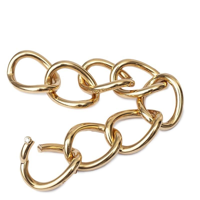 FoFo, die Juwelenbörse -  Armband von Isabella Fa | 18 Karat Gelbgold | Diamant ca. 0.12 ct.