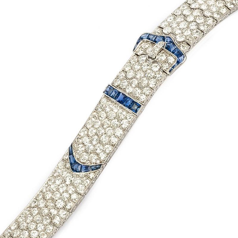 FoFo, die Juwelenbörse -  Armband | 950 Platin |Diamanten ca. 22 ct.