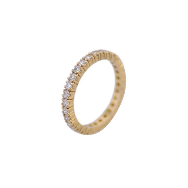 FoFo, die Juwelenbörse -  Memoirering in Gelbgold, Brillanten ca. 1,16 ct.