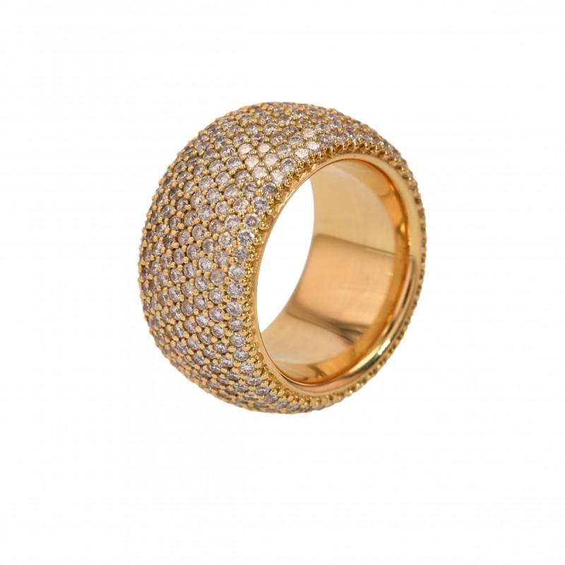 FoFo, die Juwelenbörse -  Ring | 18 Karat Gelbgold | Brillanten ca. 6 ct.