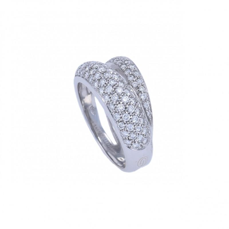 FoFo, die Juwelenbörse -  Ring von Damiani   18 Karat Weißgold   Brillanten ca. 1.40 ct.