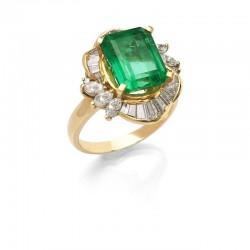 FoFo, München, Juwelenbörse, Schmuck, Ring in Gelbgold mit einem...