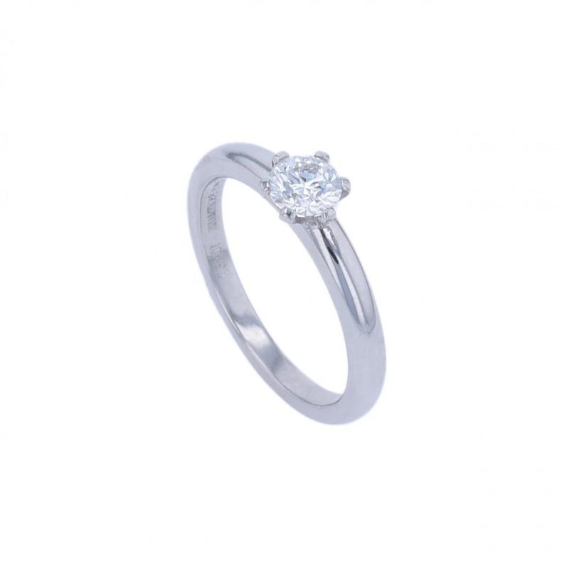 FoFo, die Juwelenbörse -  Solitärring |950 Platin | Brillanten 0.50 ct.