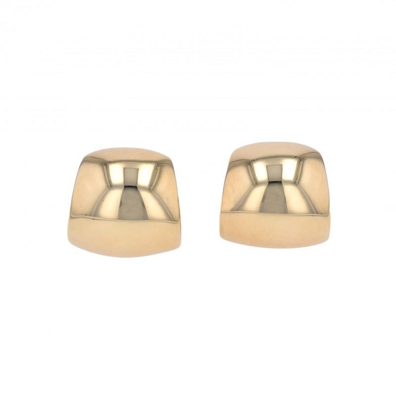 FoFo, die Juwelenbörse -  Breite Clipcreolen | 18 Karat Gelbgold