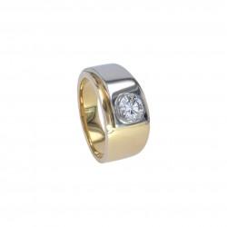 FoFo, München, Juwelenbörse, Schmuck, Ring in Gelbgold, Diamant...