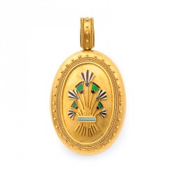 "FoFo, München, Juwelenbörse, Schmuck, Medaillon ""Egyptian..."